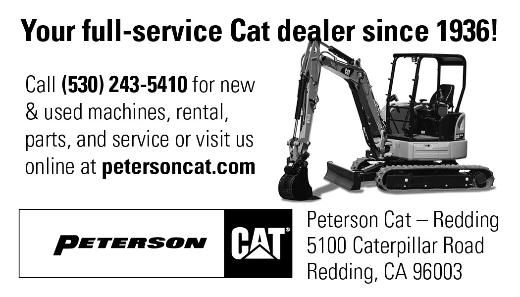 Peterson Tractor Company - | Shasta Builders' Exchange Directory